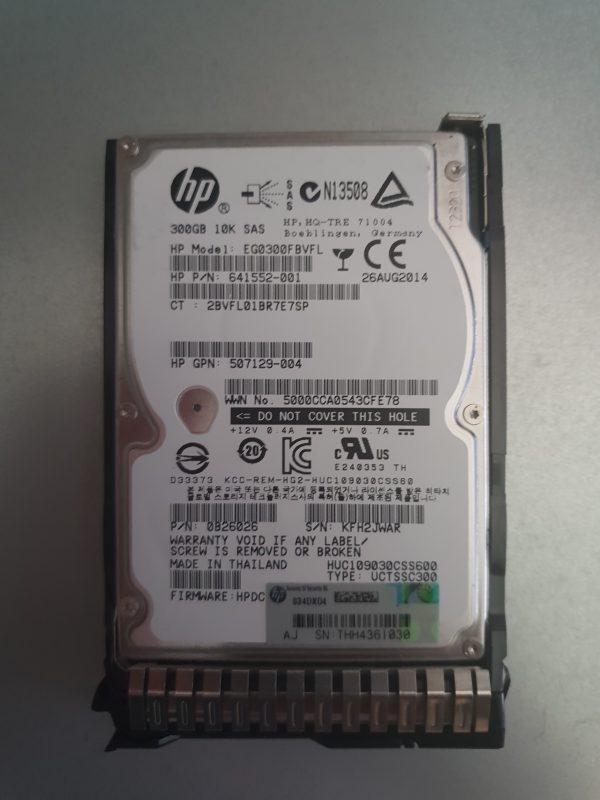 HP SAS 300GB 10K